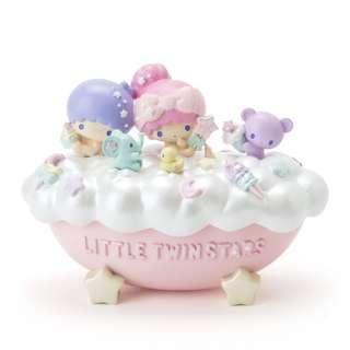 Sanrio little twin stars 雙子星 kiki lala ts twinstar 公仔 瓷器 浴缸