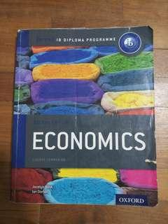 Oxford IB Economics and Chemistry textbooks
