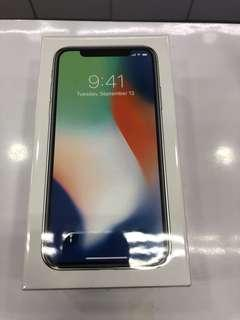 iPhone X 256gb (seal)