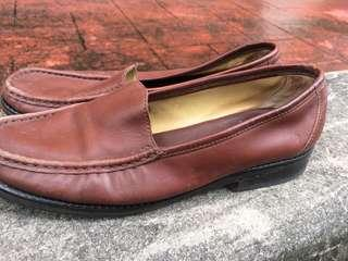 Clarks UK6/EU39 Brown Loafers