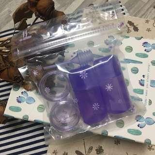 🚚 旅遊瓶罐組 分裝空瓶 空罐 可換物