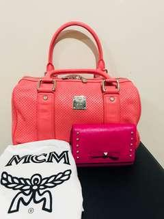 MCM Doctors Bag with Dust Bag and MCM wallet