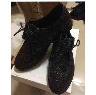 🚚 亮片 綁帶 休閒鞋 包鞋 步鞋 可換物