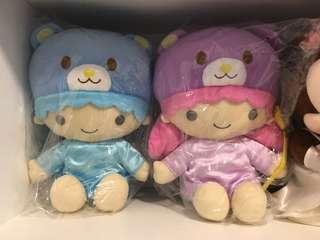 Sanrio little twin stars 雙子星 kiki lala ts twinstar 公仔 北海度熊仔