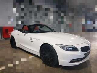 Bmw z4 tastefully done up for cheap lease / rental . promotion steal. slight negotiable