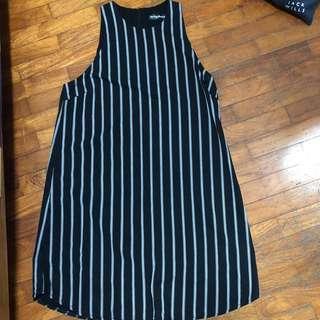 Something borrowed stripe dress