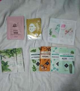 Korean / taiwan sheet mask
