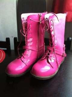 Barbie Pink Boots