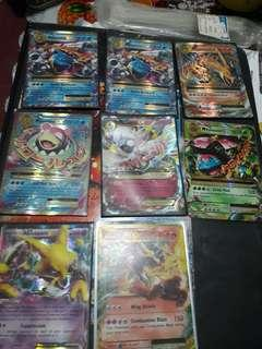 Pokemon Cards(various Ex)