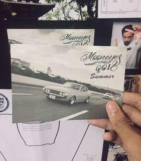 Mooneyes Summer 2018 postcard