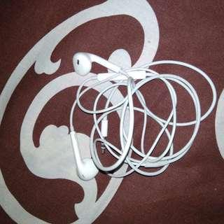 (Preloved) Earphone iphone second bekas ori copotan