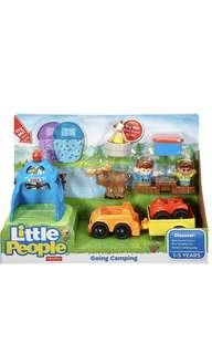 ~Ready Stocked~ Fisher-Price Little People Going Camping pretend role play