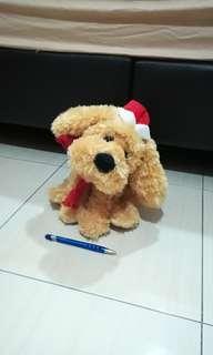 Moving & Singing Dog Plush