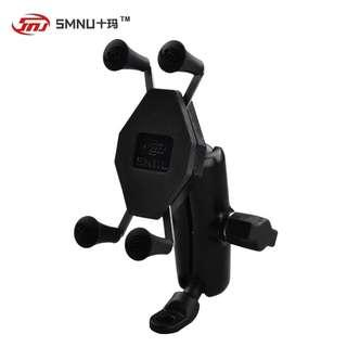 smnu mobile phone holder x grip mirror end adapter