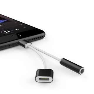 2in1 Headphone Lightning Adapter