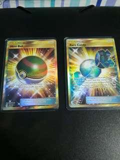Pokemon secret rare cards