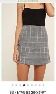 Universal store luck and trouble skirt