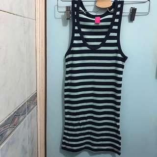 (BIG SALES all tanks $20for3 !!) COTTON ON Long Tank 間條長背心