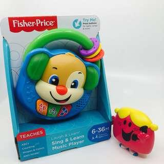 ~Ready Stocked~ Fisher-Price Laugh & Learn Sing & Learn Music Player, puppy