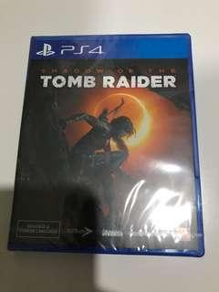 (Brand New Sealed) Shadow of Tomb Raider for PS4