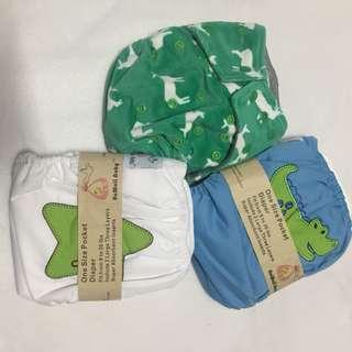 Kawaii Cloth Diapers