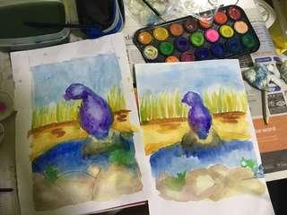 Art class For Kids- improve child's creativity