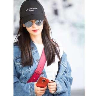 Seoul sun cap hat d g saint laurent balenciaga joyce lane crawford tom ford drole de monsieur dmop 明星簡約風格黑色太陽帽 棒球帽 襯衫