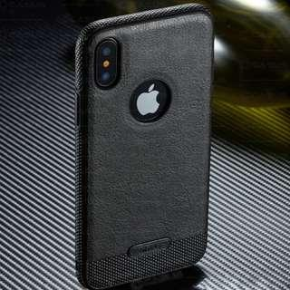 Luxury Leather Back for iPhone & Samsung galaxy