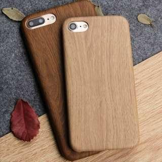 Soft Bamboo Wooden Leather Case