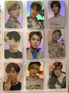 nct holographic hologram holo photocards pc