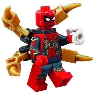 Original LEGO 76108 Iron Spider Avengers Infinity War