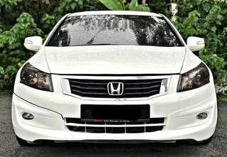 SAMBUNG BAYAR/CONTINUE LOAN  HONDA ACCORD 2.4 AUTO FULLSPEC YEAR 2008  MONTHLY RM 1150 BALANCE 4 YEARS + ROADTAX FEB 2019 LEATHER SEAT PADDLE SHIFT TIPTOP CONDITION  DP KLIK wasap.my/60133524312/accord