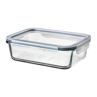 ikea Oven Glassware food container with lid