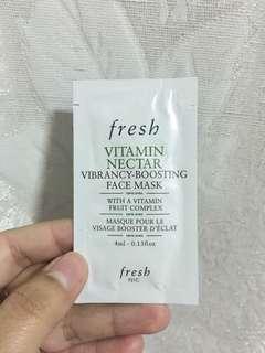 Fresh Vibrancy Boosting Face Mask