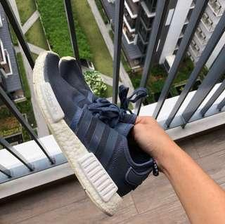 100% AUTHENTIC [ ONLY TODAY $ ] Adidas NMD R1 NAVY BLUE