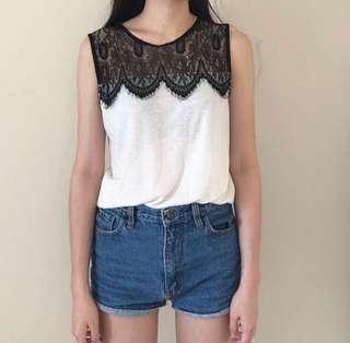 TOPSHOP lace top (REDUCED) #MidSep50