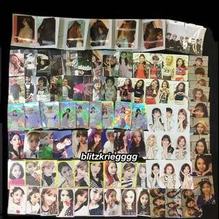 [proof of arrival] Twice and BTS photocards