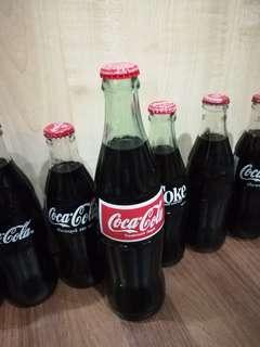 Coca Cola Tall Glass Bottle year 2006
