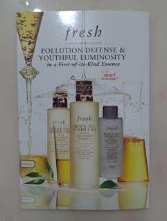 Fresh Black Tea Facial Treatment Essence 紅茶酵素抗污染精華水 4mlx3
