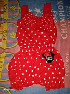 Jumper baby minnie mouse polka