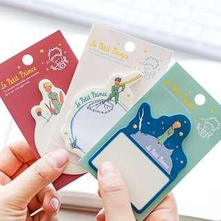 The Little Prince sticky notes /post its