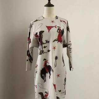 Bimba y Lola stylish designer dress