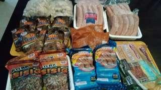 Assorted Meat Products