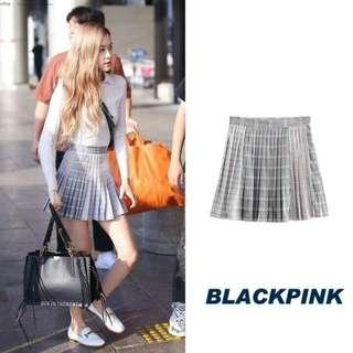 """(PO) Blackpink Rosé/Rose """"i have favourites"""" blouse and checkered skirt 