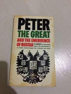 Peter the great and the emerge of russia
