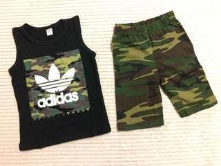 Adidas Sleeveless Short Pants