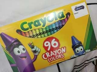 Crayola 96 crayon colors