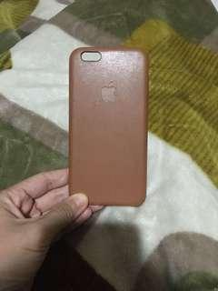 Brown leather case iphone 6/6s