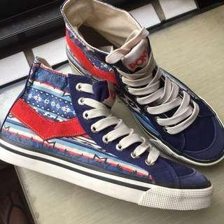 全新 PONY 圖騰波希米亞風帆布鞋