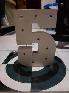 掛牆 擺設 LED 字母燈